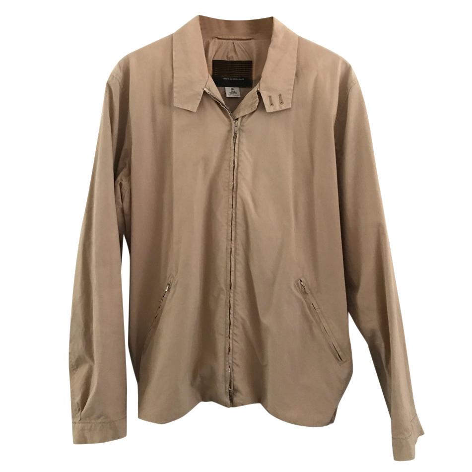 Katharine Hamnett Mens Harrington Jacket (XL) Natural cotton, England