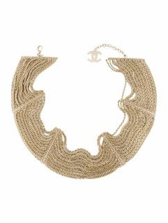 Chanel Gold Multi-Strand Chain Belt