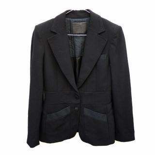 Bally Black Wool Ladies Blazer