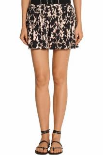 Thakoon Addition Printed Silk-Blend Shorts