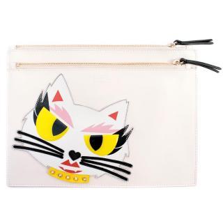 Karl Lagerfeld Choupette Kitty Clutch