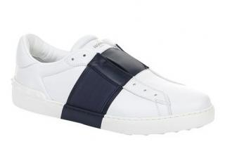 Valentino Black and White Open Sneakers