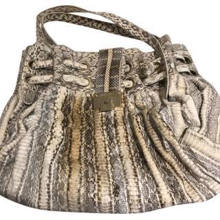 Jimmy Choo Python Handbag