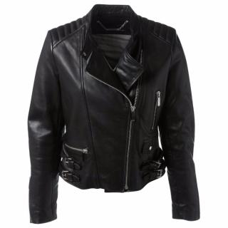 Barbara Bui Leather Biker Jacket