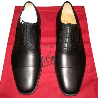 Christian Louboutin Black Brogues