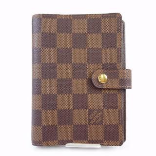 Louis Vuitton PM Brown Damier Diary Cover Agenda 10395