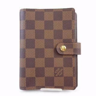 Louis Vuitton PM Brown Damier Diary Cover Agenda 10395