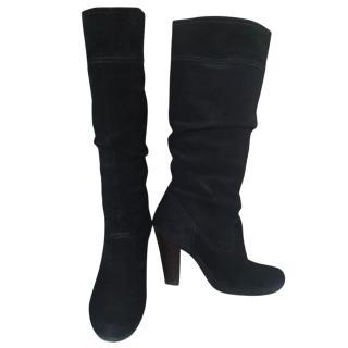 Kors Michael Kors black suede boots 37