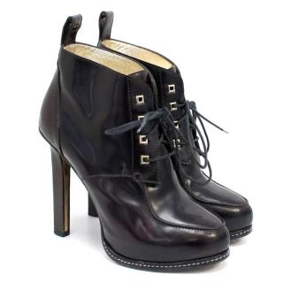 DSquared Heeled Lace Up Boots
