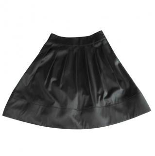 Celine Gunmetal Grey Cotton Skirt