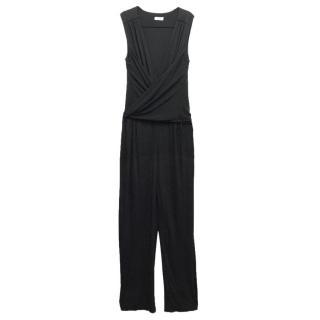 Issa Black Sleeveless Jumpsuit