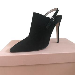 Miu Miu Black Shoe boots