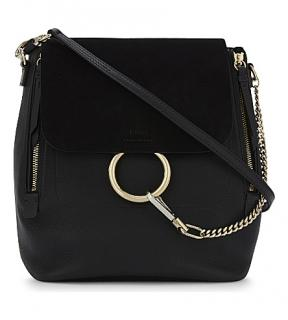 Chloe Black Faye Backpack