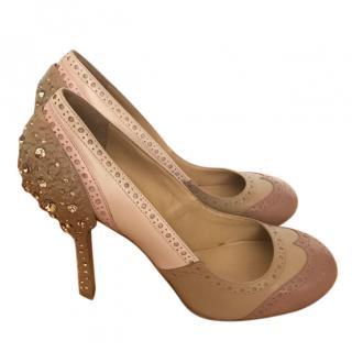 Miu Miu Gem Embellished Heels