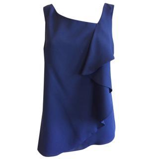 Elie Tahari Blue Top
