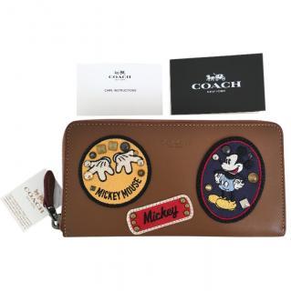 Coach X Disney Patch Wallet