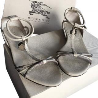 Burberry Beige Sandals
