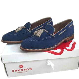 Grenson Blue Loafers