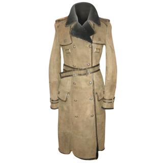 Roberto Cavalli Lamb Military Coat