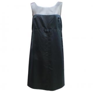Vera Wang Lavender Label navy dress