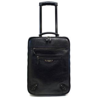 Balenciaga Black Classic Voyage Carry-on Suitcase