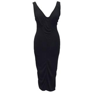 Alaia Black Bodycon Dress