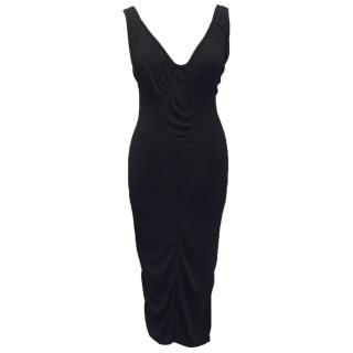 Alaia Black Bodycon Dress