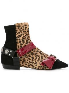 Isabel Marant Leopard Boots