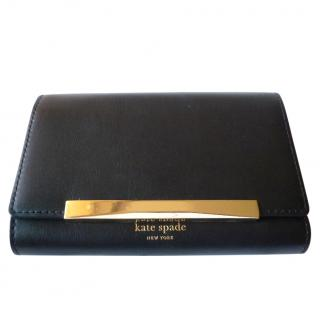 Kate Spade Black Leather Wallet