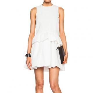 Victoria Beckham Double Ruffle Dress