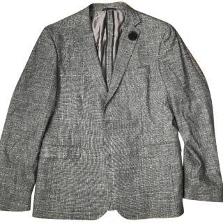 Hugo Boss Renon Grey Wool stunning Jacket