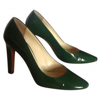 Miu Miu Green Shoes