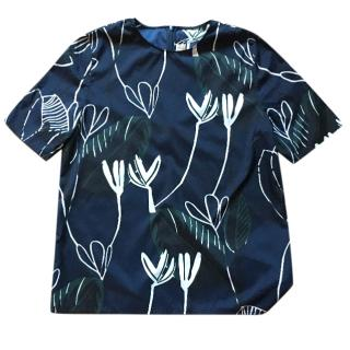 Marni floral top M