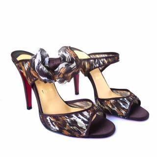 Christian Louboutin Miss Chief Safari Sandals