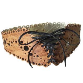 Paul Seville Laced Waspie corset belt