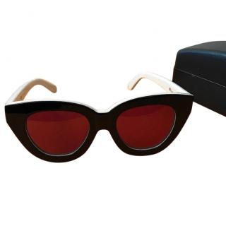 Karen Walker Cat Eye Sunglasses