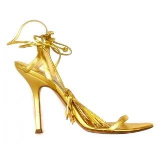 Jimmy Choo Gold Heels