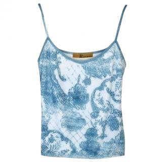 John Galliano Blue Top