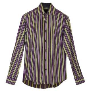 Etro Multicolour Striped Shirt