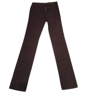 J Brand Dark Brown Skinny Jeans