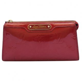 Louis Vuitton Monogram Vernis Rose Pomme d'Amour Cosmetic Pouch Bag