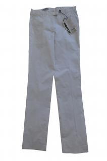 Jil Sander white cotton trousers