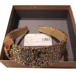 Miu Miu Sparkling Headband