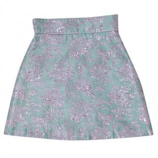 Miu Miu Jacquard Skirt