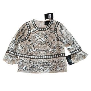 Needle and Thread Embellished Blouse