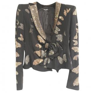 Giorgio Armani embellished jacket