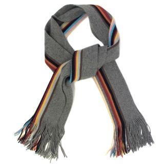Paul Smith Multicoloured Knit Scarf