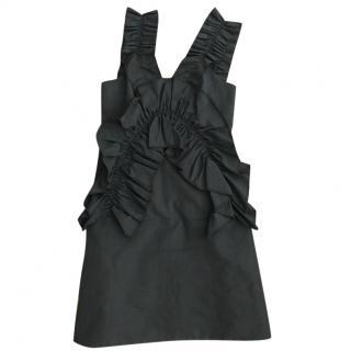 Victoria Beckham Black Dress Size 10
