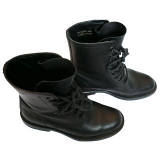 Saint Laurent Combat Boots
