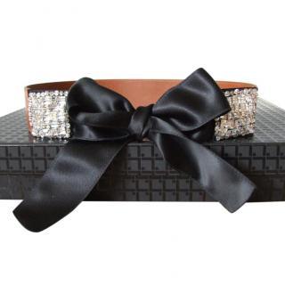 Red Valentino Tie Waist Belt